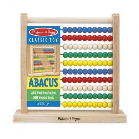 Melissa & Doug Fa készségfejlesztő játék, Klasszikus abakusz