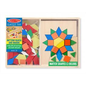 Melissa & Doug Készségfejlesztő játék, Szín- és formaegyeztető kirakó