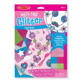 Melissa & Doug Kreatív játék, Glitter habszivacs ékszer készítő