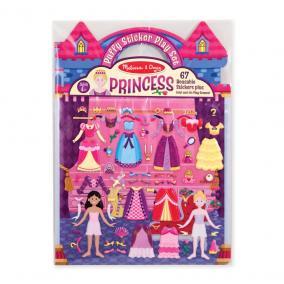 Melissa & Doug Kreatív játék, Pufi matrica készlet, hercegnő