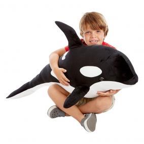 Melissa & Doug Óriás plüss, Kardszárnyú delfin