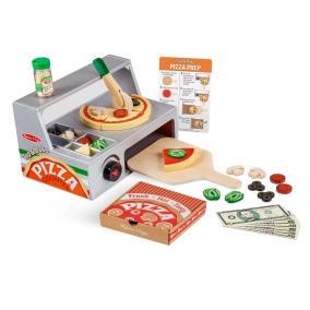 Melissa & Doug Szerepjáték, Fa pizzasütő készlet