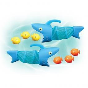 Melissa & Doug Vizi játék, Éhes cápák