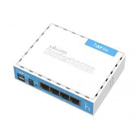 MIKROTIK MT RB941-2nD MikroTik RB941-2 hAP lite classic RouterOS L4 32MB RAM, 4xLAN,2.4GHz 802.11b/g/n