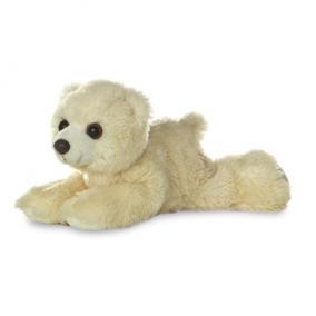 Mini Flopsie jegesmedve 20 cm 13294 Aurora