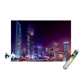 Mini puzzle - Shanghai éjszaka, 150 db