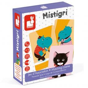 Mistigri - párosító játék Janod