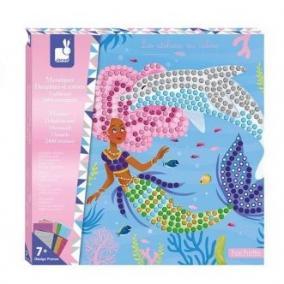 Mosaique delfinek és sellők 07961 Janod