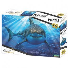 Nagy fehér cápa puzzle, 1000 darabos