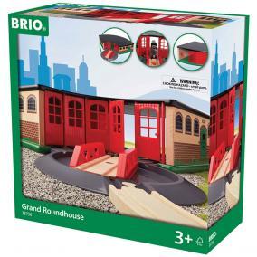 Nagy kerek kocsiszín 33736 Brio