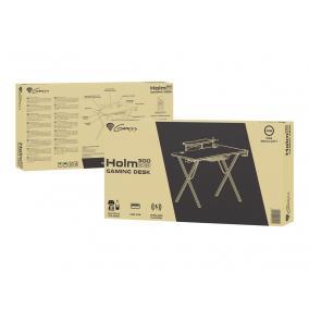 NATEC NDS-1550 Genesis Gamer asztal HOLM 300 RGB; Hub USB