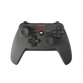 Natec Genesis PV58 NJG-0692 gamepad, vezeték nélküli, PC/PS3, fekete