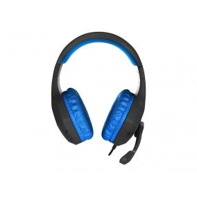 Natec Genesis NSG-0901 Argon 200 Gaming fejhallgató, vezetékes, fekete-kék