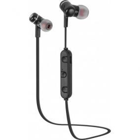 Natec Extreme Media NSL-1337 mikrofonos fülhallgató, vezeték nélküli, fekete