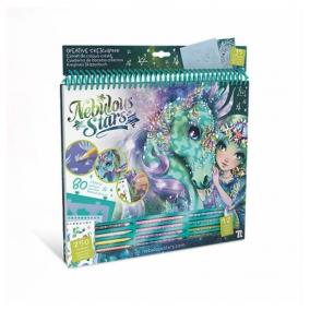 Nebulous Stars Fantasy lovak kreatív vázlatfüzet (zöld)