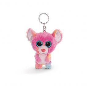 NICI Glubschis Candypop kisegér plüss kulcstartó, 9 cm