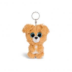 NICI Glubschis Lollidog kutyus plüss kulcstartó, 9 cm