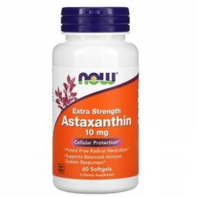 Now astaxanthin 10 mg kapszula [60 db]