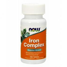 Now Iron complex tabletta [100 db]