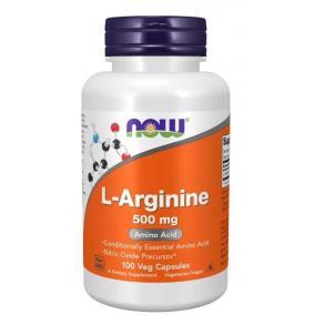 Now l-arginine kapszula 500 mg [100 db]