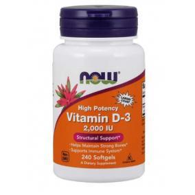 Now vitamin d-3 kapszula 2000 iu [120 db]
