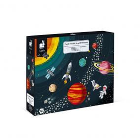 Oktató puzzle 100 drabos A Naprendszer  02678 Janod