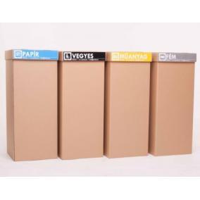 Ökuka Slim, környezetbarát hulladékgyűjtő 60l - Papír