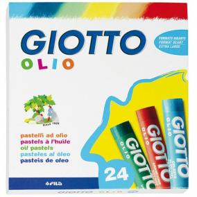Olajpasztell 24 db-os Olio Maxi vízálló Giotto