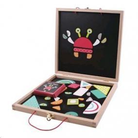 Őrült formák mágneses játék