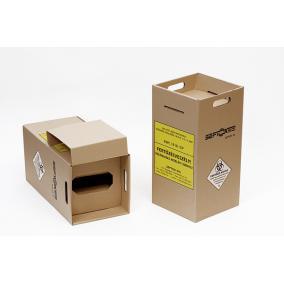 Veszélyes hulladékgyűjtő papír /20L/ fólia nélkül