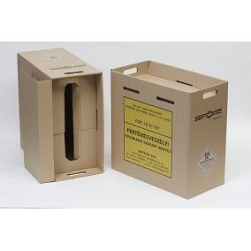 Veszélyes hulladékgyűjtő papír /40L/ fóliával
