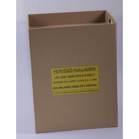 Veszélyes hulladékgyűjtő papír /50 L/