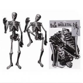 Papír Csontváz Dekoráció, 134 cm