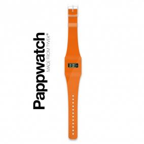 Papír karóra - ORANGE / NEON - Pappwatch