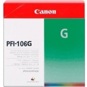 Canon PFI-106 [GREEN] tintapatron (eredeti, új)