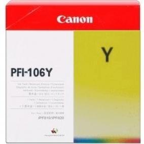 Canon PFI-106 [Y] tintapatron (eredeti, új)