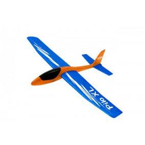 Pilo XL Foam Kézi vitorlázó repülő EPP hajlítható szárnyak kék törzs narancs Jamara460485