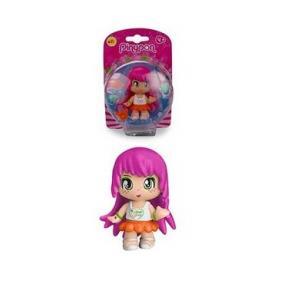 Pinypon - baba rózsaszín hajjal, 11-es széria