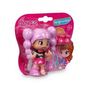 Pinypon - cseréld le a cipőmet! - lila hajú babával
