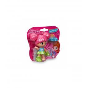 Pinypon - cseréld le a cipőmet! - rózsaszín hajú babával