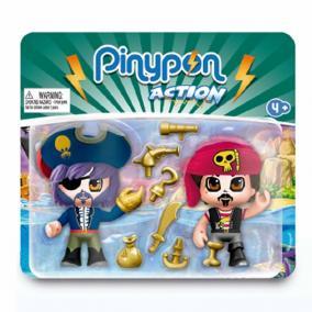 Pinypon Action - 2 darabos kalóz figura szett
