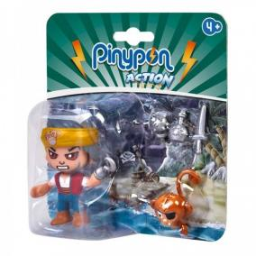 Pinypon Action - kalóz figura majommal