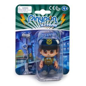 Pinypon Action - rendőr figura bilinccsel