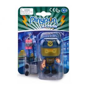 Pinypon Action - rendőr figura dinamittal