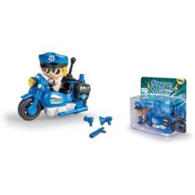 Pinypon Action - rendőr motorbiciklivel