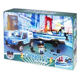 Pinypon Action - rendőrségi pick-up és motorcsónak