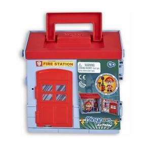 Pinypon Action - tűzoltó figura és tűzoltóság