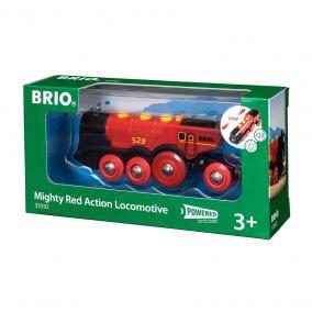 Piros Action Lokomotív 33592 Brio