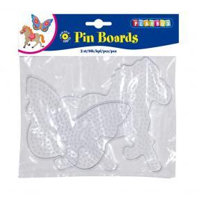 Playbox Forma, nagy, 2 db, átlátszó - ló, pillangó