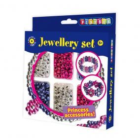 Playbox Kreatív szett - fémes gyöngyök